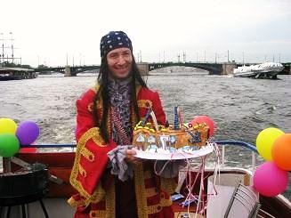 Отметить детский день рождения на корабле.