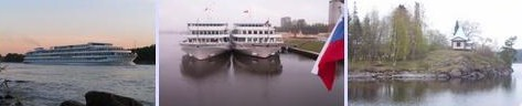 Аренда круизного корабля: корабль на Валаам