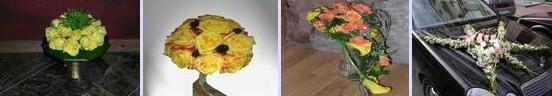 букет невесты и другие цветы для оформление праздников