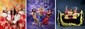 """Шоу-балет """"Фламинго"""" - народный танец"""