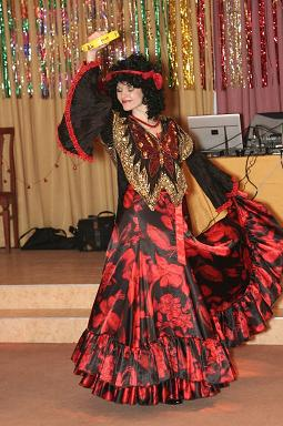 Цыганские танцы.