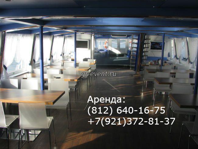 Корабль Москва - внутренний салон.